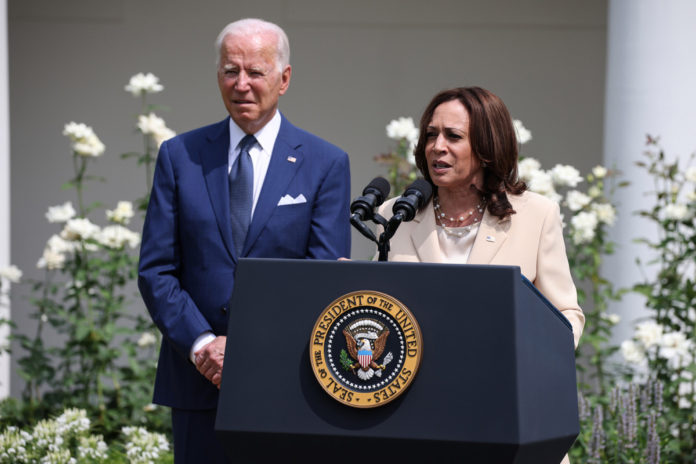 Democrats worried about Kamala Harris approval numbers