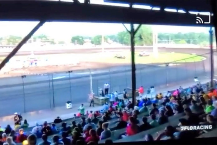 Iowa racetrack announcer fired for 'darker-toned skin' rant