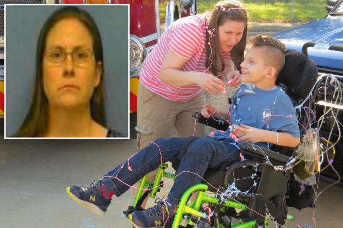 Arkansas woman charged for faking her adopted son's illness