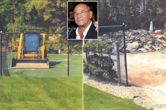 Mogul sues firm for 'destroying' tennis court at Hamptons home