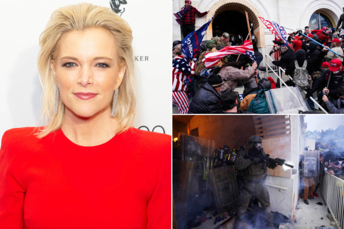 Megyn Kelly says the media has overblown Capitol riot