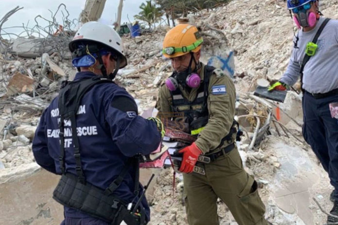 Israeli officer recovers Jewish texts in Florida condo rubble