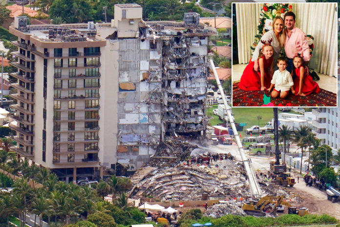 Bodies of Paraguayan first lady's kin found in rubble of Florida building collapse