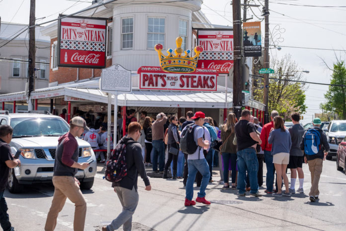 Shooting at Pat's Steaks in Philly after Eagles and Giants fans argue