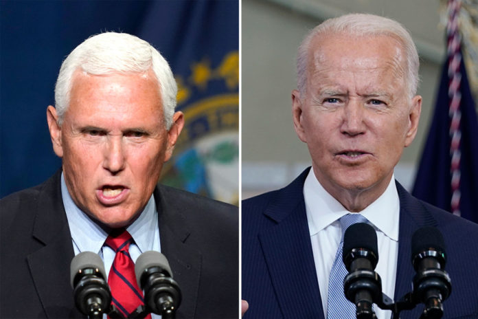 Pence blasts Biden over China, says White House 'rolling over'