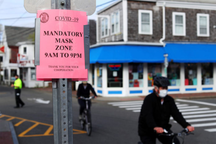 Provincetown issues face mask advisory after new COVID outbreak