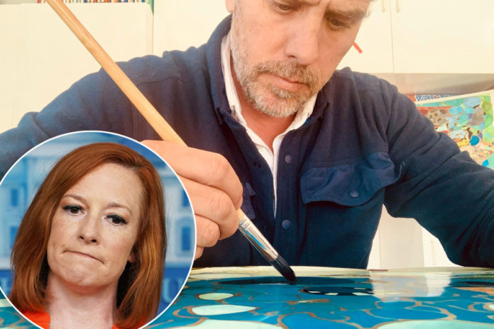 Hunter Biden has 'right' to 'artistic career' and sales won't be corrupt: Psaki