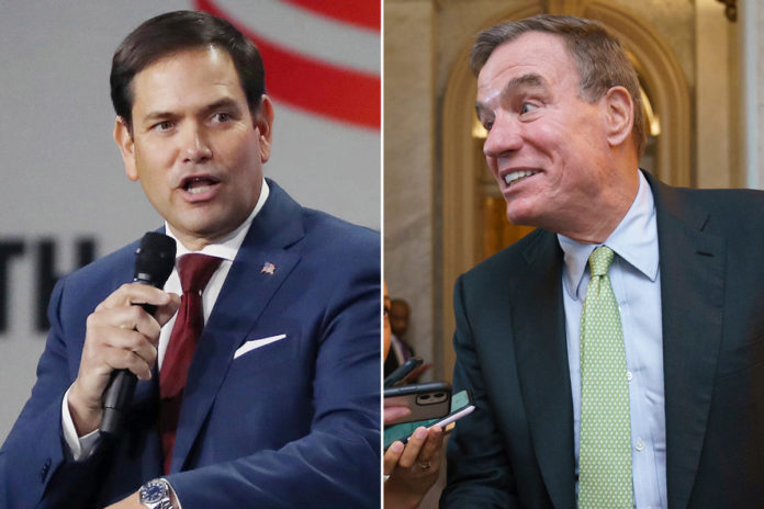 Warner, Rubio call for Biden to help Afghans who assisted US