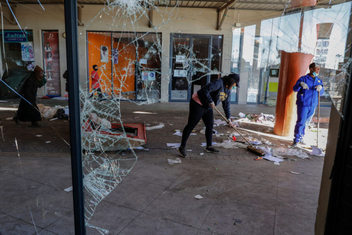 Looting, unrest continues for sixth straight day in South Africa
