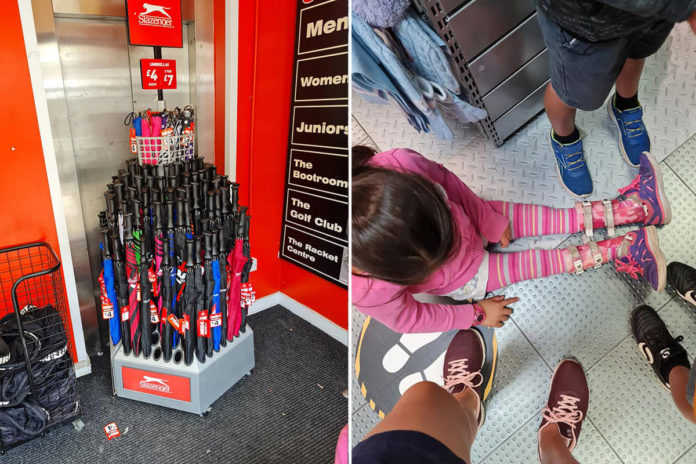 UK mom says store's broken elevator forced wheelchair-bound daughter to crawl