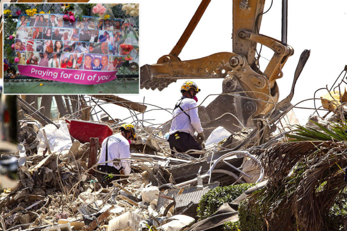 Death toll in Surfside condo collapse soars to 79, with 61 still missing