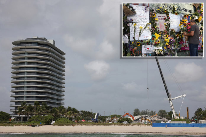 Death toll in Florida collapse hits 86 as workers battle storms
