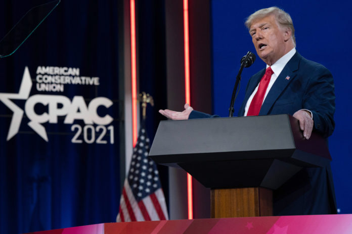 Trump delivers keynote address at CPAC in Dallas