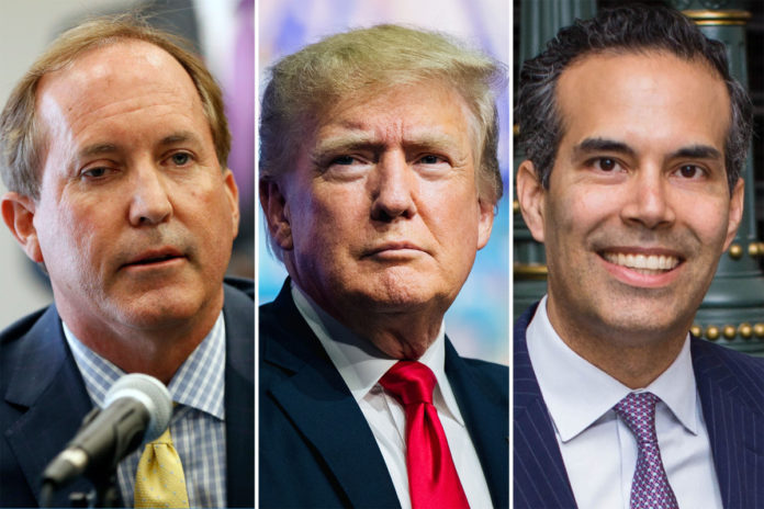 Trump backs embattled Texas AG Paxton over George P. Bush