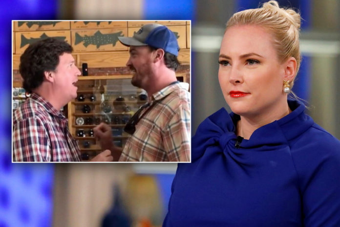 Meghan McCain defends Tucker Carlson over viral confrontation