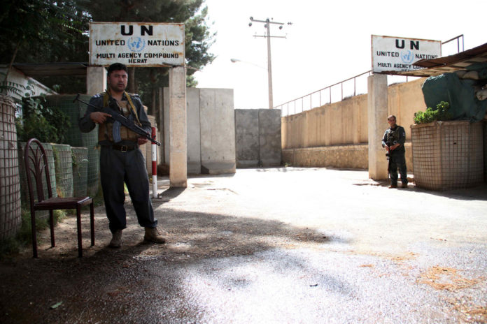 Taliban attack UN compound, raising fears of Afghan crisis