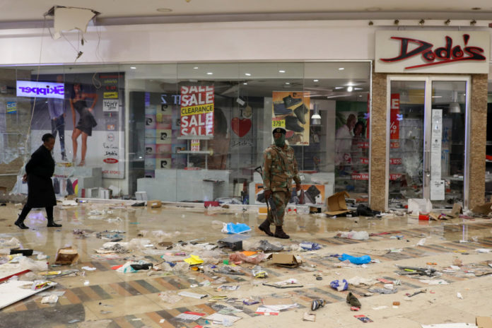 At least 45 dead during looting, rioting in South Africa