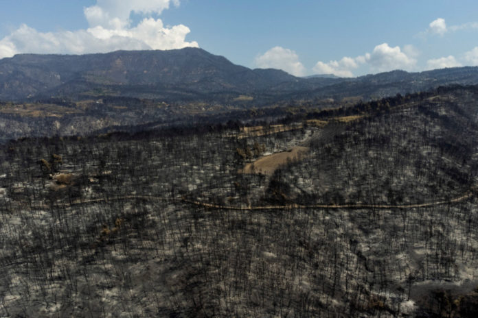 Wildfires rage outside Athens, villages evacuated