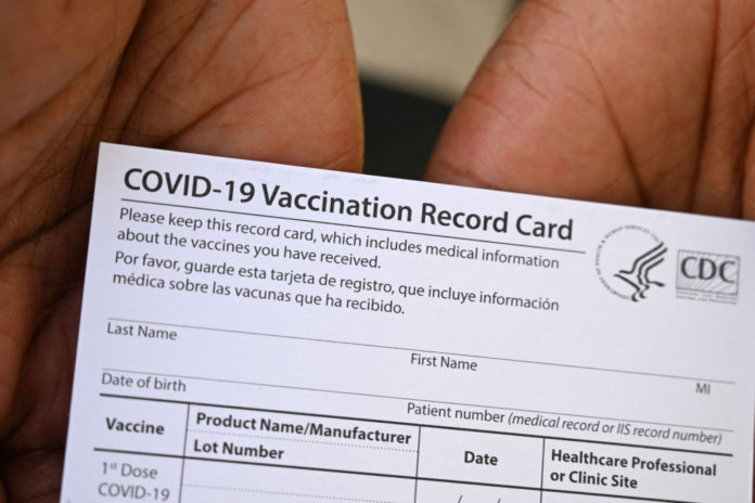 Tennessee officials seize fake COVID-19 vaccine cards from China