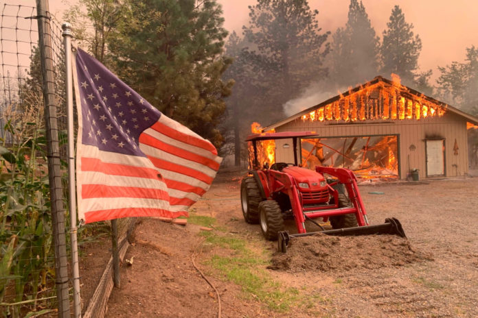 Northern California wildfires destroy towns, drain resources in Western states