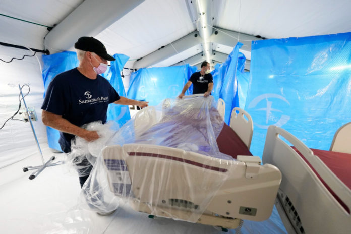 Mississippi gets 2nd field hospital in days