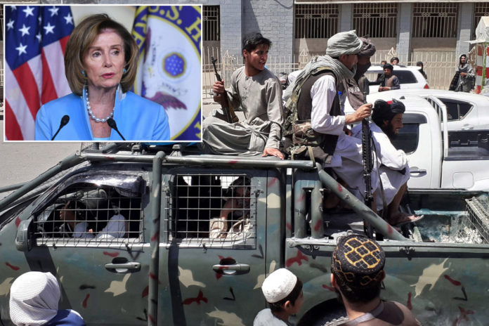 Democrats defend Biden's Afghanistan withdrawal as Taliban rout looms