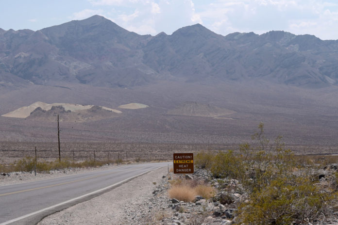 Second hiker dies within days from heat in Death Valley