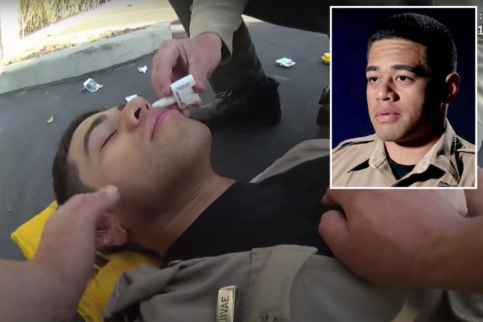 California sheriff's deputy almost dies from OD after examining fentanyl