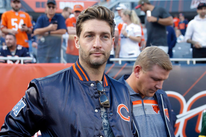 Jay Cutler dropped by Uber Eats for anti-mask views