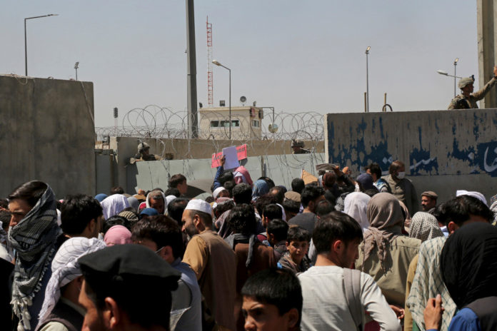 Blast outside Kabul airport, no word on casualties