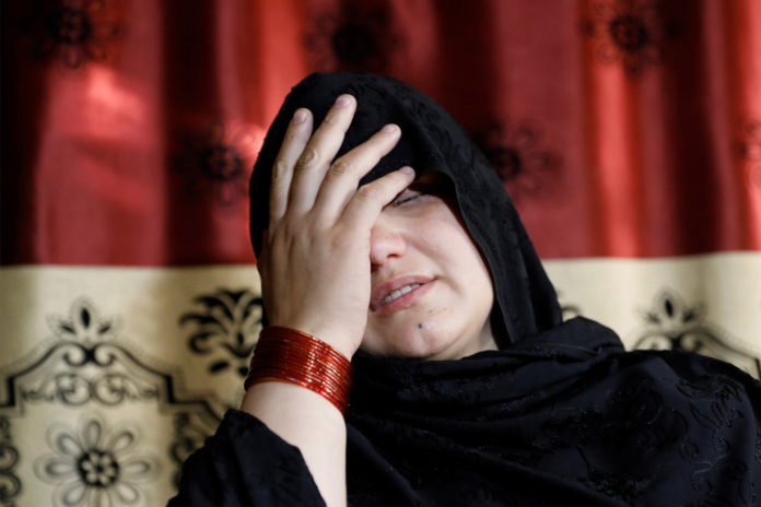 Afghan mom blinded by Taliban claims they feed women's bodies to dogs