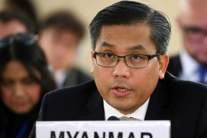 Pair busted in NY for plot against Myanmar ambassador to UN: feds