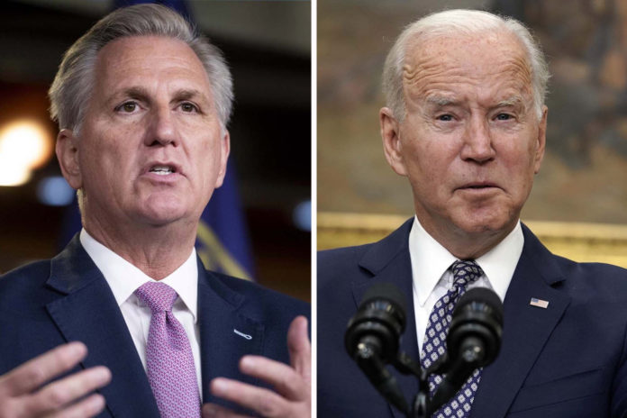 McCarthy blasts Biden for 'turning back' on Americans in Afghanistan