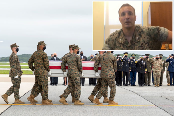 Marine who slammed military over Afghan mess says he's resigning