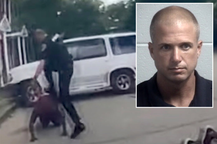 South Carolina cop charged after stomping on unarmed black man's head