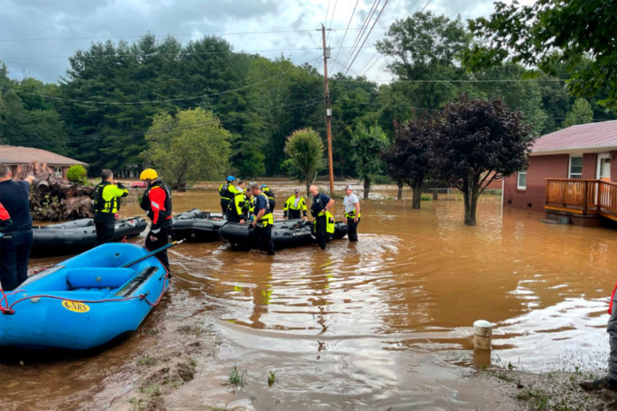 North Carolina county searching for dozens missing from Fred flooding