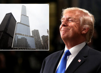 Chicago trying to block a $1M tax rebate on Trump building