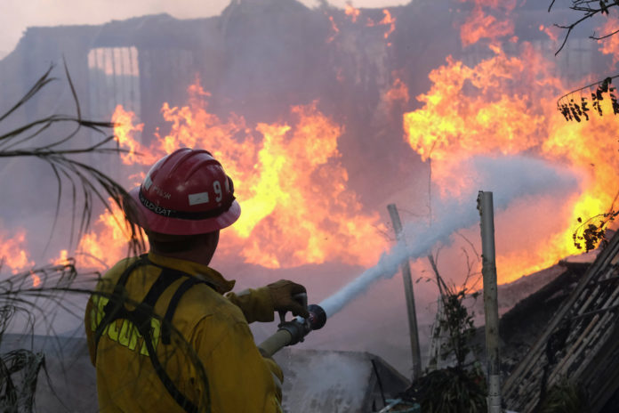 California wildfire dangers may be spreading to the south