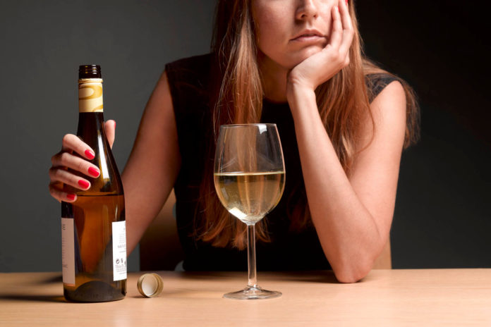 Moms with kids increased drinking by 323% after start of COVID