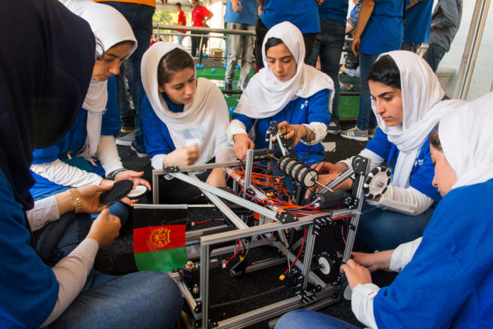 Afghanistan's all-girls robotics team reportedly desperate to flee country