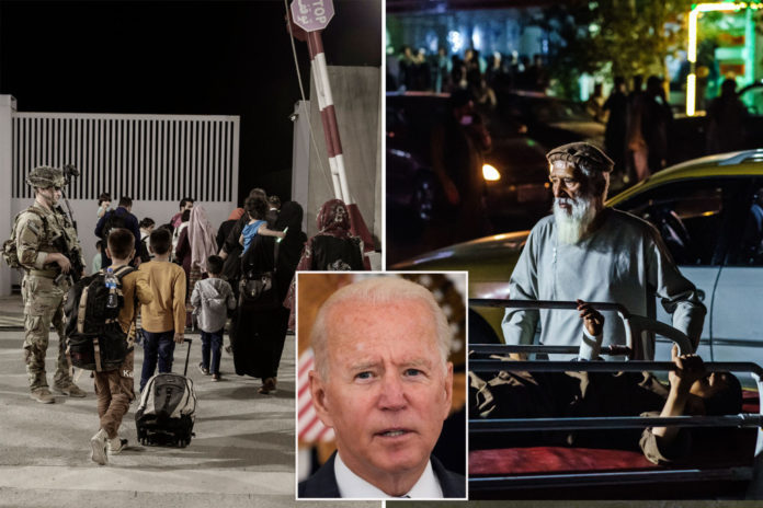 Americans told to leave Kabul airport gates again in echo of pre-attack warning