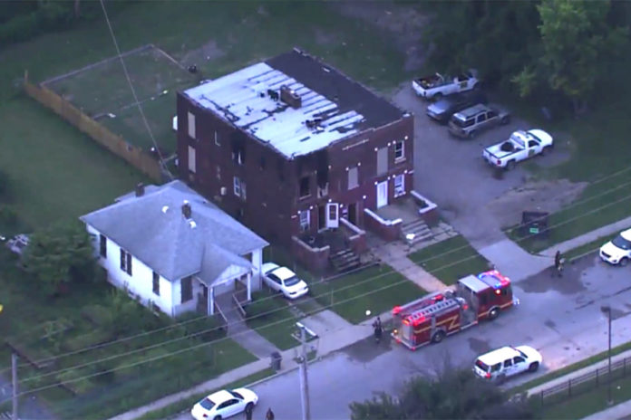 Five kids die in Illinois fire after being left home alone