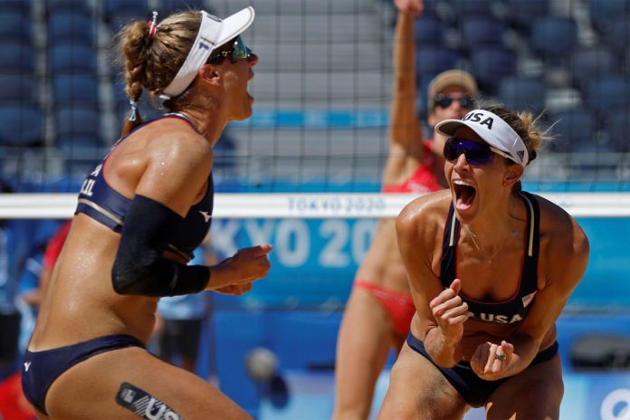 April Ross and Alix Klineman lead USA volleyball team to Olympic win