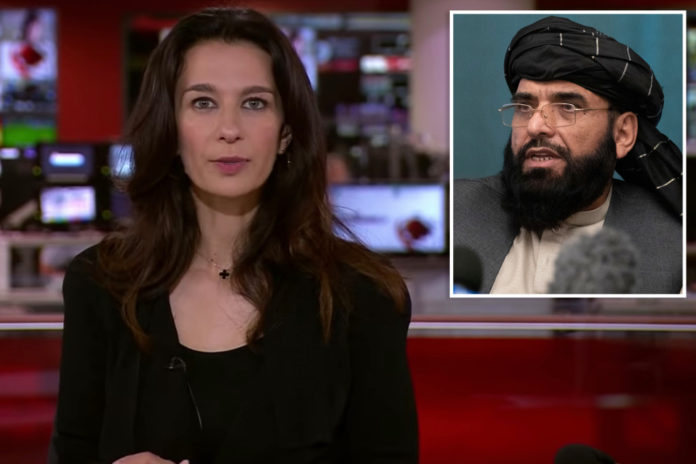 BBC anchor receives surprise call from Taliban live on air