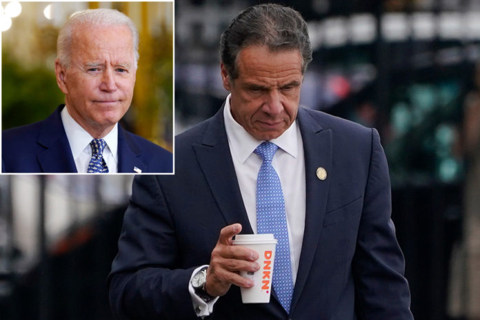 Cuomo did 'hell of a job' as gov, Biden says after resignation
