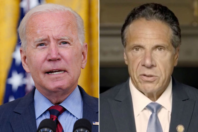 Biden says Cuomo should resign hours after harassment report