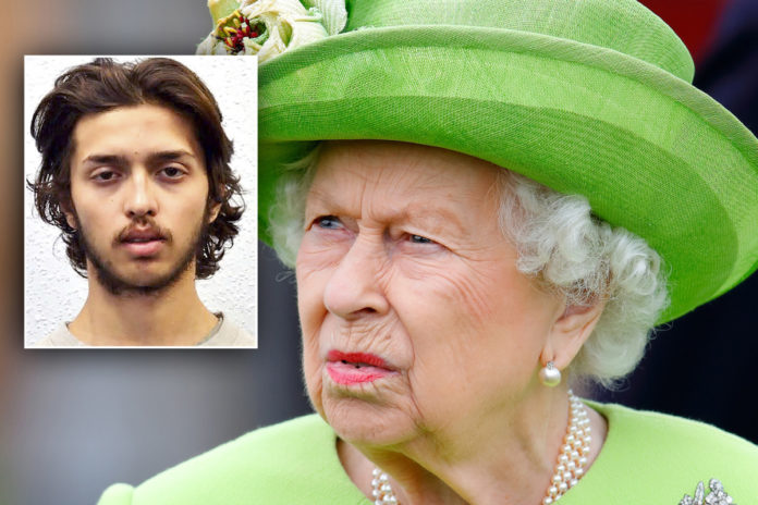 UK terrorist who stabbed two people vowed to kilI the Queen