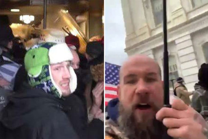 Two Capitol rioters admit to attacking officers in plea deals