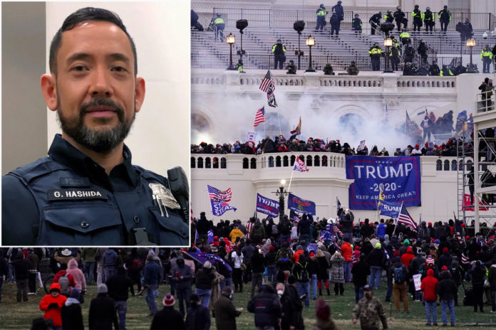 Capitol riot cop becomes 3rd responding officer to kill self: report