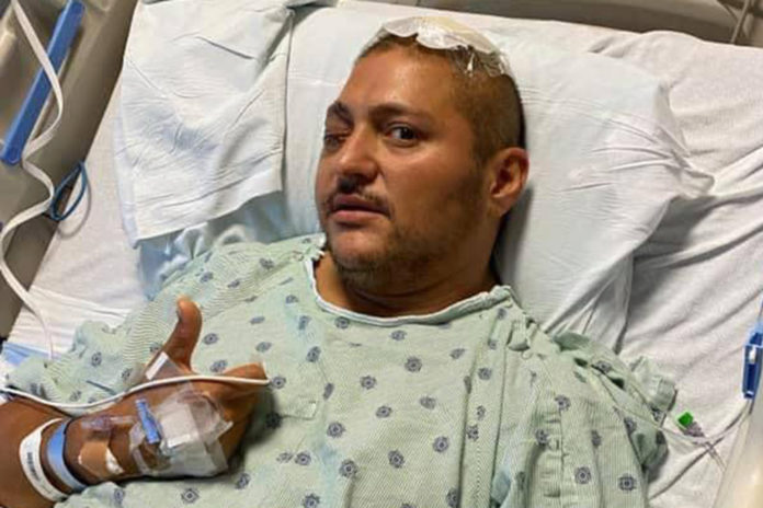 Injured Chicago cop thanks supporters after shooting